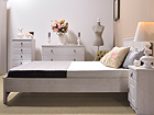 Кровать Blanca 160x200 cm MA-115041