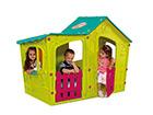 Игровой домик Magic Villa, бирюзовый / светло-зеленый TE-115485