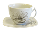 Чашка с блюдцем Magnoolia 250 мл, 6 шт ET-116028