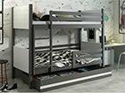 Двухъярусная кровать 80x190 cm TF-116048