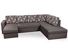 Угловой диван-кровать с двумя ящиками Rowena VR-116135