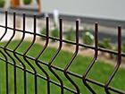 Заборная панель 3D RAL8017, 4 mm 123x250 cm PO-116459