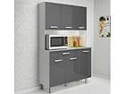 Высокий кухонный шкаф Pixel MA-116475