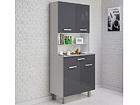 Высокий кухонный шкаф Pixel MA-116476