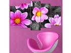 Картина из 5-частей Flower Power II, 100x60 cm ED-116552
