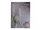 LED настенная картина Tulip Bouquet 30x40 см