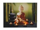 LED настенная картина Buddha & Tealights 50x70 см ED-117193