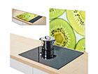 Защита от брызг на плиту Kiwi 56x50 см