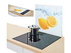Защита от брызг на плиту Lemon Splash 56x50 см