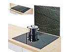 Защита от брызг на плиту 56x50 см