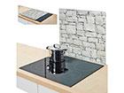 Защита от брызг на плиту Stone 56x50 см