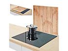 Защита от брызг на плиту Wood 56x50 см