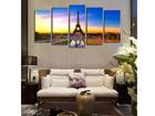Картина из 5-частей Eiffel Tower I 160x80 cm ED-117469