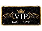 Металлический постер в ретро-стиле VIP Exclusive 10x20 cm SG-118291