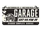Металлический постер в ретро-стиле Garage 10x20 cm SG-118407