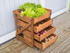 Овощная полка с ящиками