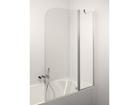 Стеклянная перегородка в ванную Francesca Plus