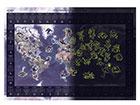 Светящаяся в темноте карта мира RW-119230