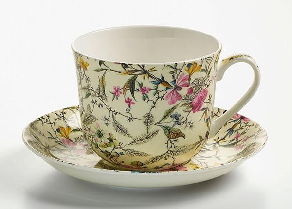 Чашка с блюдцем Summer blossom 500 ml AS-119659