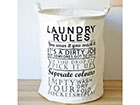 Корзина для белья Laundry Rules GB-120643