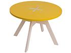 Журнальный стол / детский стол Ø 70 cm OK-121056