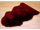Мерино ковёр из шкуры красный 60x90 см NA-121411
