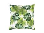 Декоративная подушка Holly зеленые листья 45x45 cm EV-121583