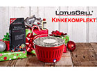 Бездымный угольный гриль в подарочной упаковке LotusGrill FB-122166