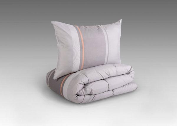 Комплект подушка с одеялом Серебряная полоса ND-122243