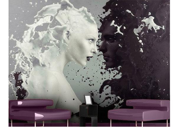 Самолкеющиеся фотообои Milk & Coffee 270x360 cm ED-122894