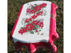 Рождественская скатерть из гобелена Ornament 140x212 cm TG-123446