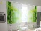 Просвечивающая штора Bamboo leaves 200x120 см ON-123470