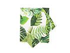 Салфетка Holly Зеленые листья 58x65 cm EV-123638