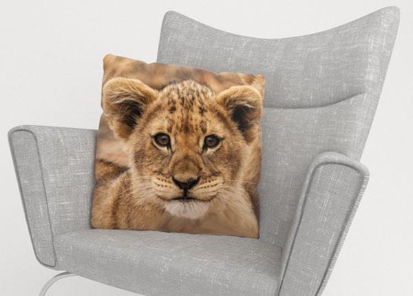 Декоративная наволочка Cute lion