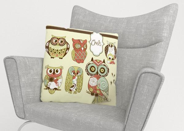 Декоративная наволочка Owl 2