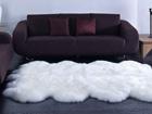 Ковёр из шкуры овцы 170x180 см