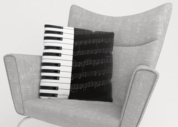 Декоративная наволочка Piano Keys
