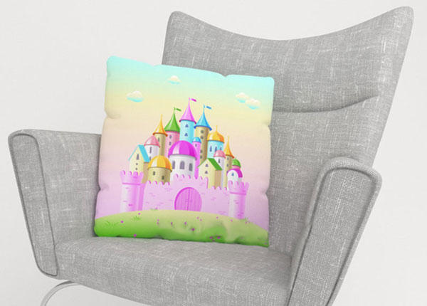 Декоративная наволочка Pink Castle