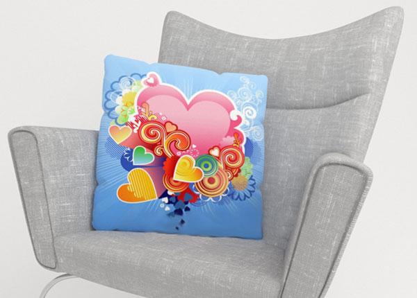 Декоративная наволочка Pink Heart
