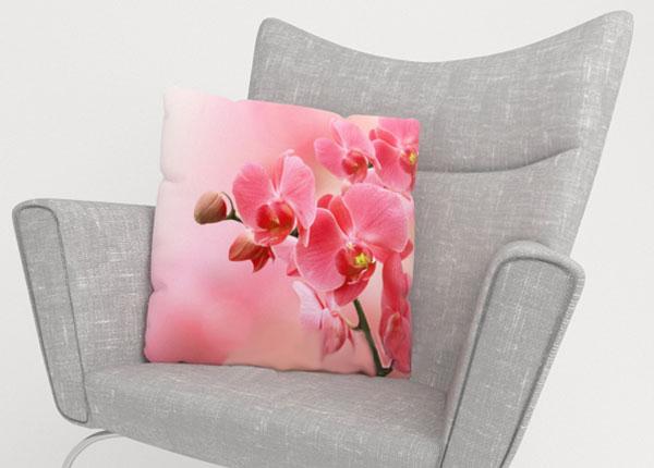Декоративная наволочка Pink Orchids