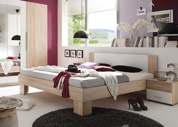 Кровать 160x200 cm + матрас Prime Standard Bonell TF-124346