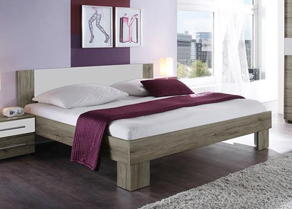 Кровать 160x200 cm + матрас Prime Standard Bonell TF-124347