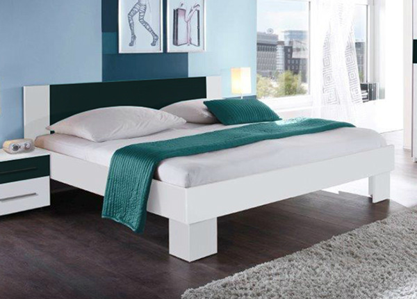 Кровать 160x200 cm + матрас Prime Standard Bonell TF-124352