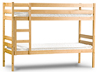 Двухъярусная кровать из массива берёзы