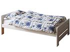 Кровать из массива берёзы 70x155 cm WK-124367