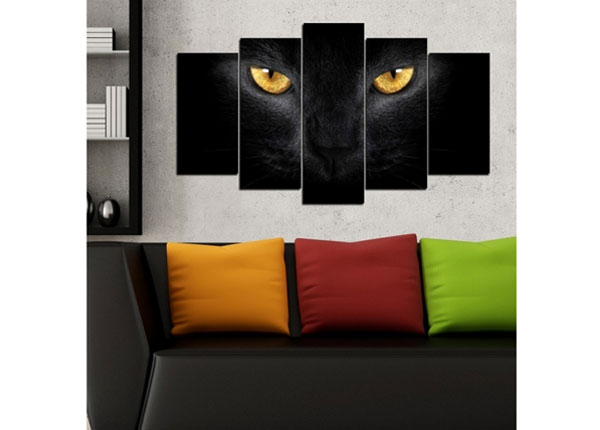Картина из 5-частей Cats 100x60 cm ED-124459