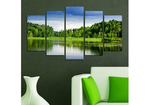 Картина из 5-частей Seascape 100x60 cm ED-124461