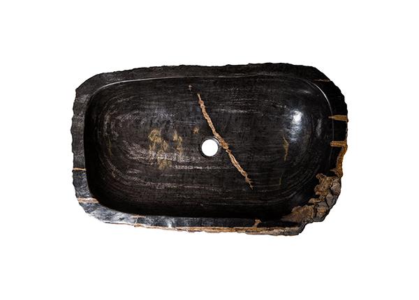 Умывальник из окаменелого дерева GM-124524