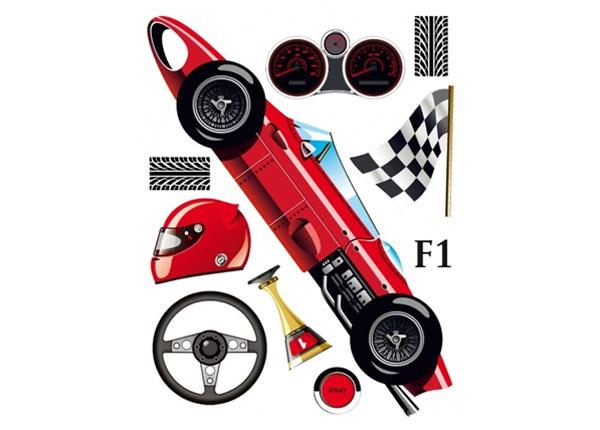 Настенная наклейка Formula 1, 65x85 см ED-124644