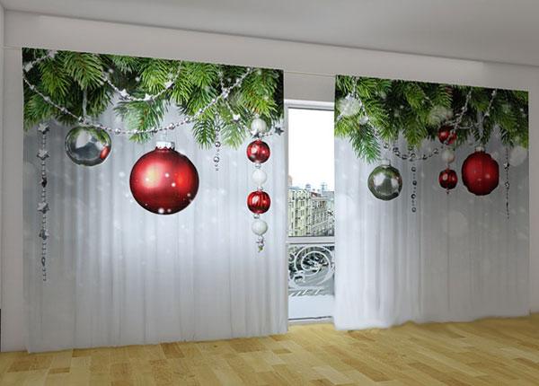 Полузатемняющая штора Christmas Decorations 360x230 cm ED-124662